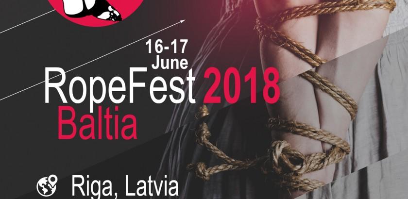 RopeFest Baltia - фестиваль шибари в Риге